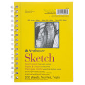 "Strathmore 300 Series Spiral Sketch Paper Pad - 5 1/2"" x 8 1/2"""
